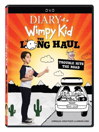 Jurnalul unui pusti: La drum lung / Diary of a Wimpy Kid: The Long Haul - DVD