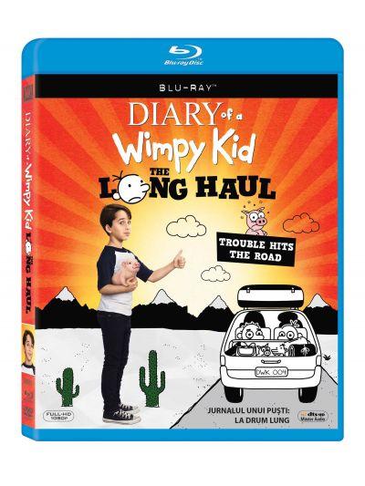 Jurnalul unui pusti: La drum lung / Diary of a Wimpy Kid: The Long Haul - BLU-RAY