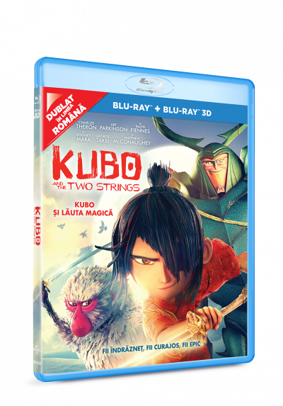 Kubo si Lauta Magica / Kubo and the Two Strings BLU-RAY 2D+3D