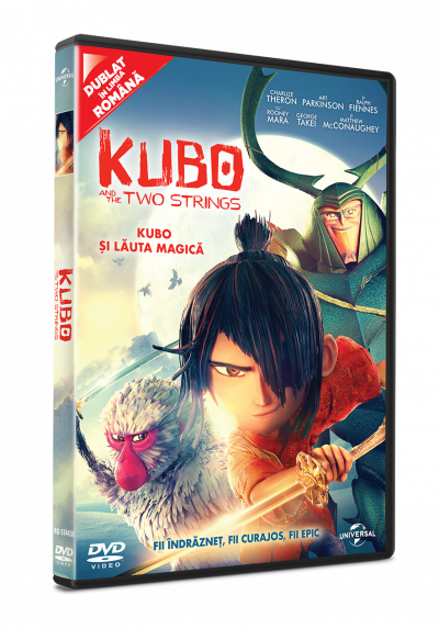 Kubo si Lauta Magica / Kubo and the Two Strings - DVD