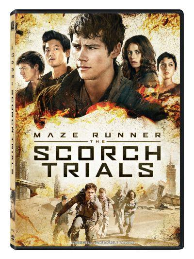 Labirintul 2: Incercarile focului / Maze Runner 2: The Scorch Trials - DVD