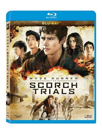 Labirintul 2: Incercarile focului / Maze Runner 2: The Scorch Trials - BLU-RAY