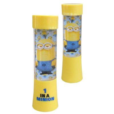 Lanterna Minionii (Minions Led Shake With Shine Glitter Lamp Changing Color)