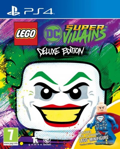 LEGO DC SUPERVILLAINS DELUXE EDITION - PS4