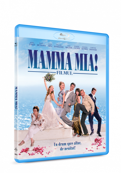 Mamma Mia! - Filmul / Mamma Mia! The Movie - BLU-RAY