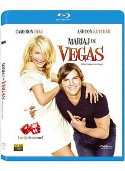 Mariaj de Vegas / What Happens in Vegas - BLU-RAY