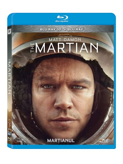 Martianul / The Martian - BLU-RAY Combo (3D+2D)