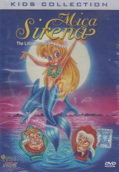 Mica Sirena / The Little Mermaid (Kids Collection) - DVD