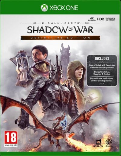 MIDDLE EARTH SHADOW OF WAR DEFINITIVE EDITION - XBOX ONE