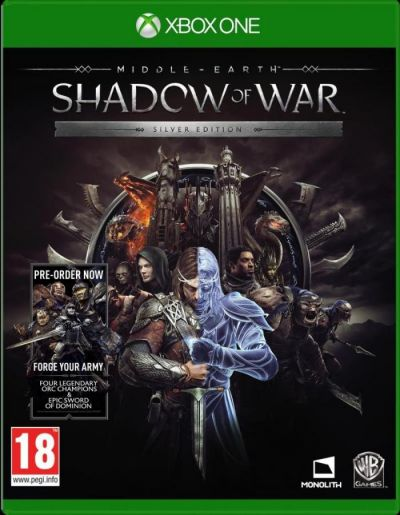 MIDDLE EARTH SHADOW OF WAR SILVER EDITION - XBOX ONE