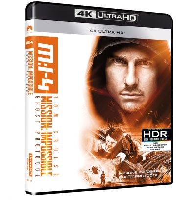 Misiune: Imposibila 4 - Ghost Protocol / Mission: Impossible - Ghost Protocol - UHD 1 disc (4K Ultra HD)