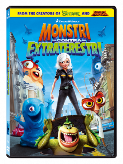 Monstri contra Extraterestri / Monsters vs. Aliens - DVD