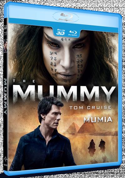Mumia / The Mummy (2017) - BLU-RAY combo (2D + 3D)