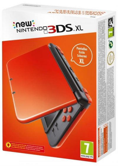 NEW 3DS XL CONSOLE ORANGE BLACK - GDG
