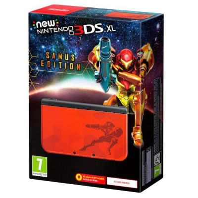 NEW 3DS XL SAMUS RETURNS LIMITED EDITION CONSOLE - GDG
