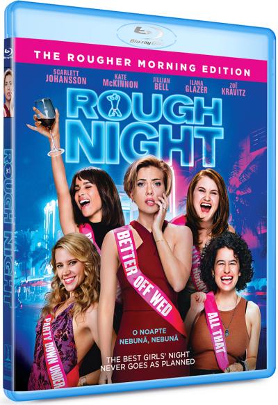 O noapte nebuna, nebuna / Rough Night - BD