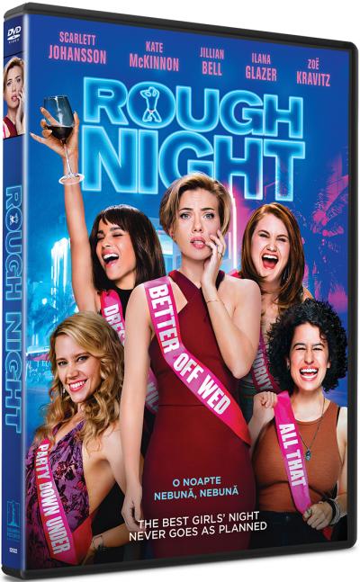 O noapte nebuna, nebuna / Rough Night - DVD