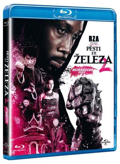 Omul cu pumni de fier  2 / The Man with the Iron Fists 2 (coperta in ceha, subtitrare in romana) - BLU-RAY