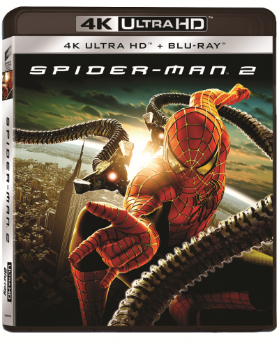 Omul-Paianjen 2 / Spider-Man 2 - BD 2 discuri (4K Ultra HD + Blu-ray)