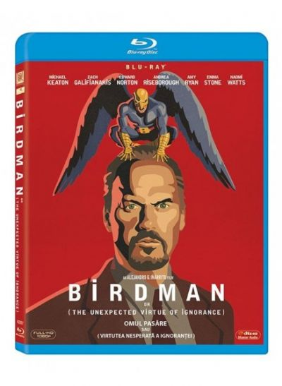 Omul Pasare sau (Virtutea nesperata a ignorantei) / Birdman or (The Unexpected Virtue of Ignorance) - BLU-RAY
