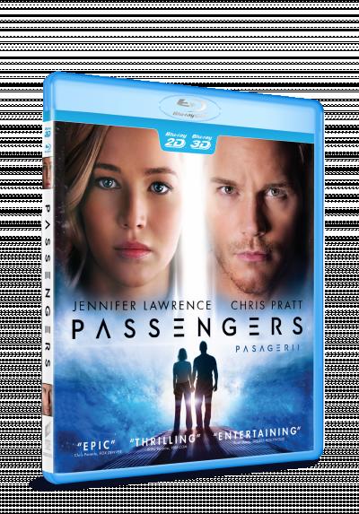 Pasagerii / Passengers - BLU-RAY 3D + 2D