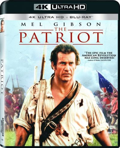 Patriotul / The Patriot - UHD 2 discuri (4K Ultra HD + Blu-ray)