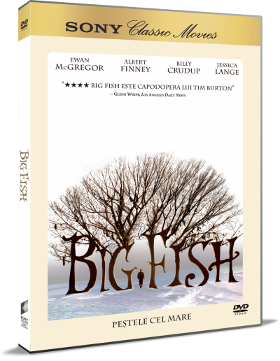 Pestele cel Mare / Big Fish - DVD