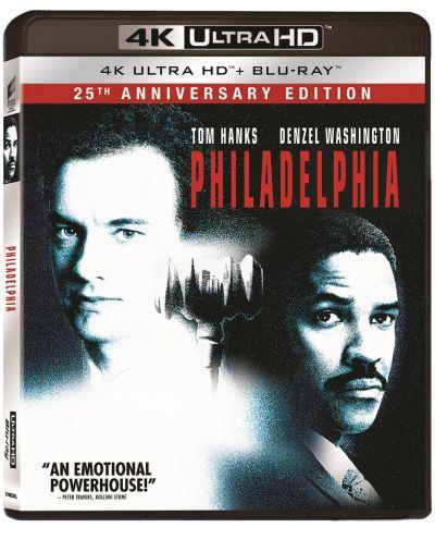 Philadelphia: 25th Anniversary Edition - UHD 2 discuri (4K Ultra HD + Blu-ray)