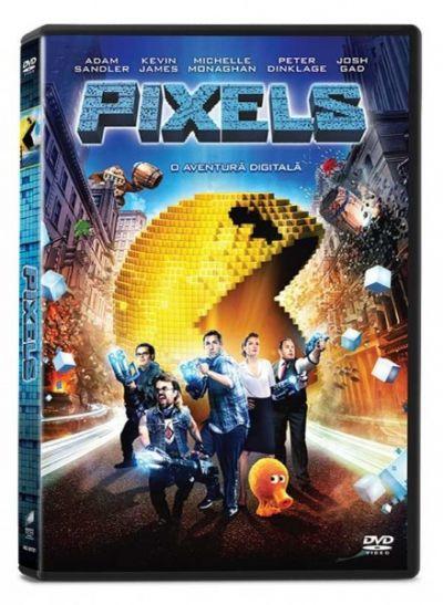 Pixels: O aventura digitala / Pixels - DVD