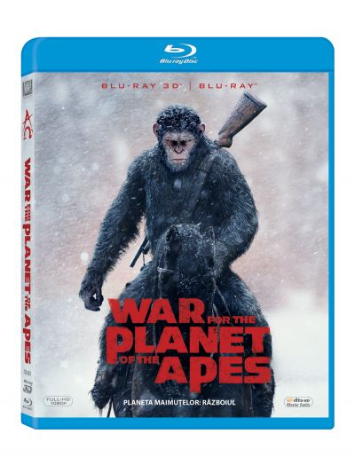 Planeta Maimutelor 3: Razboiul / War for the Planet of the Apes - BD COMBO (3D+2D)