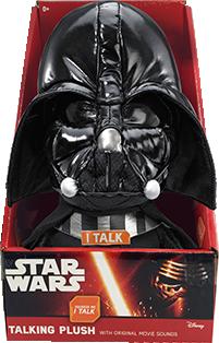 Plus Darth Vader (cu sonor) din Star Wars / Razboiul Stelelor (24 cm)