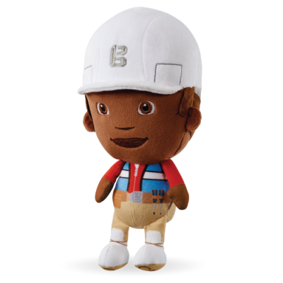 Plus Leo din Bob Constructorul / Bob the Builder (25 cm)
