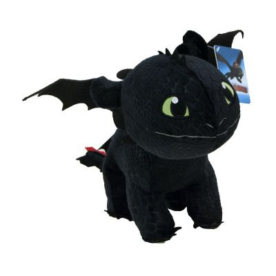 Plus Toothless din Cum sa iti dresezi Dragonul / How To Train Your Dragon (13 cm)