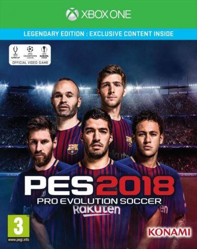 PRO EVOLUTION SOCCER 2018 LEGENDARY EDITION - XBOX ONE