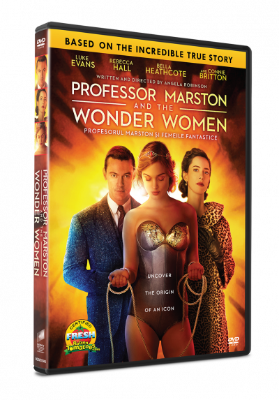 Profesorul Marston si Femeile Fantastice / Professor Marston and the Wonder Women - DVD