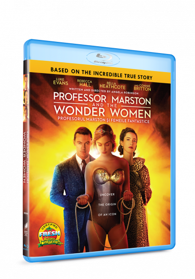 Profesorul Marston si Femeile Fantastice / Professor Marston and the Wonder Women - BLU-RAY