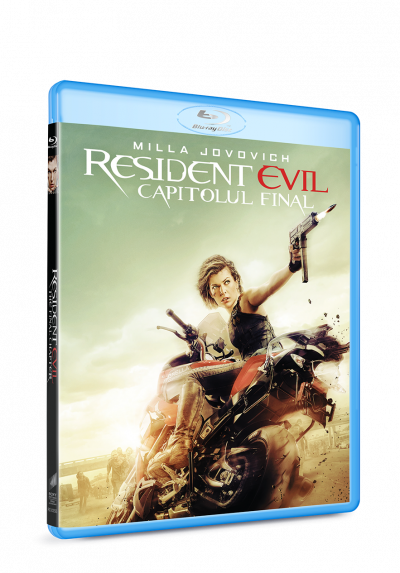 Resident Evil: Capitolul Final / Resident Evil: The Final Chapter - BLU-RAY