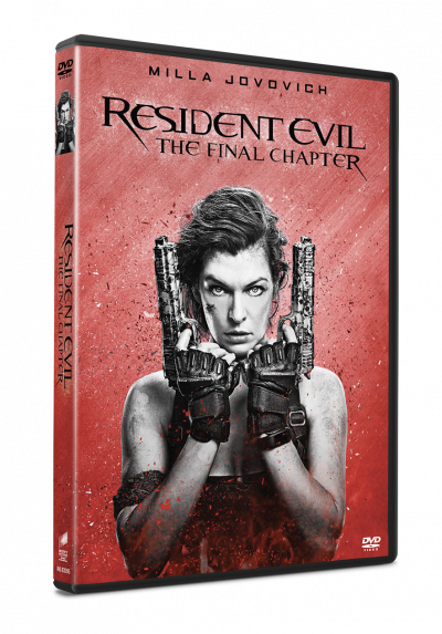 Resident Evil: Capitolul Final / Resident Evil: The Final Chapter (Character Cover Collection) - DVD