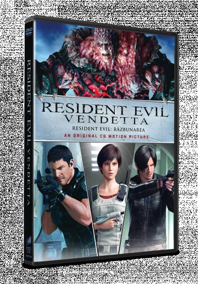 Resident Evil: Razbunarea / Resident Evil: Vendetta - DVD