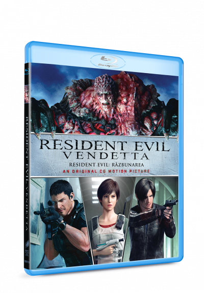 Resident Evil: Razbunarea / Resident Evil: Vendetta - BLU-RAY