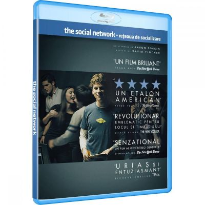 Reteaua de socializare / The Social Network - BLU-RAY
