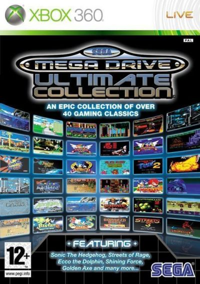 SEGA MEGA DRIVE ULTIMATE COLLECTION CLASSICS - XBOX360