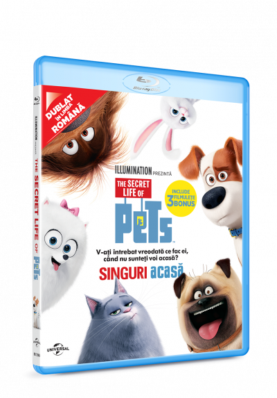 Singuri acasa / The Secret Life of Pets - BLU-RAY