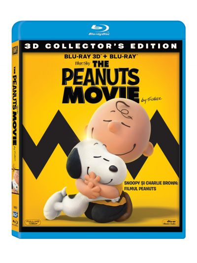 Snoopy si Charlie Brown: Filmul Peanuts / The Peanuts Movie - BLU-RAY Combo (3D+2D)