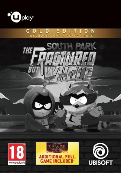 SOUTH PARK THE FRACTURED BUT WHOLE GOLD EDITION - PC (UPLAY CODE)