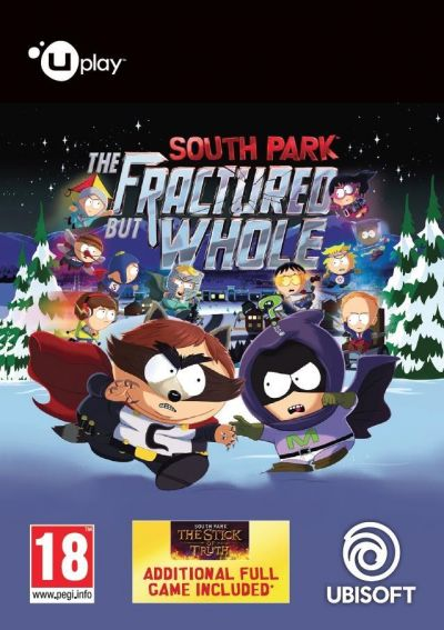 SOUTH PARK THE FRACTURED BUT WHOLE - PC (UPLAY CODE)