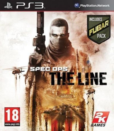 SPEC OPS THE LINE FUBAR EDITION - PS3