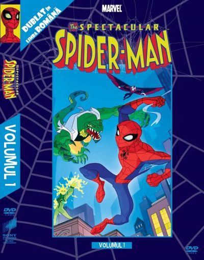 Spectacular Spider-Man: Volumul 1  - DVD