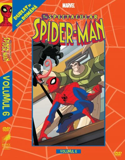 Spectacular Spider-Man: Volumul 6  - DVD