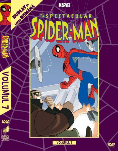 Spectacular Spider-Man: Volumul 7  - DVD